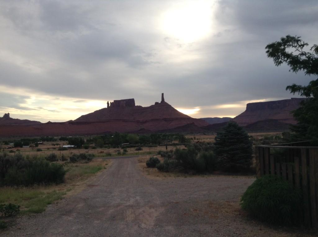 sunrise castle valley