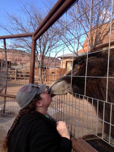 Beth Kissing