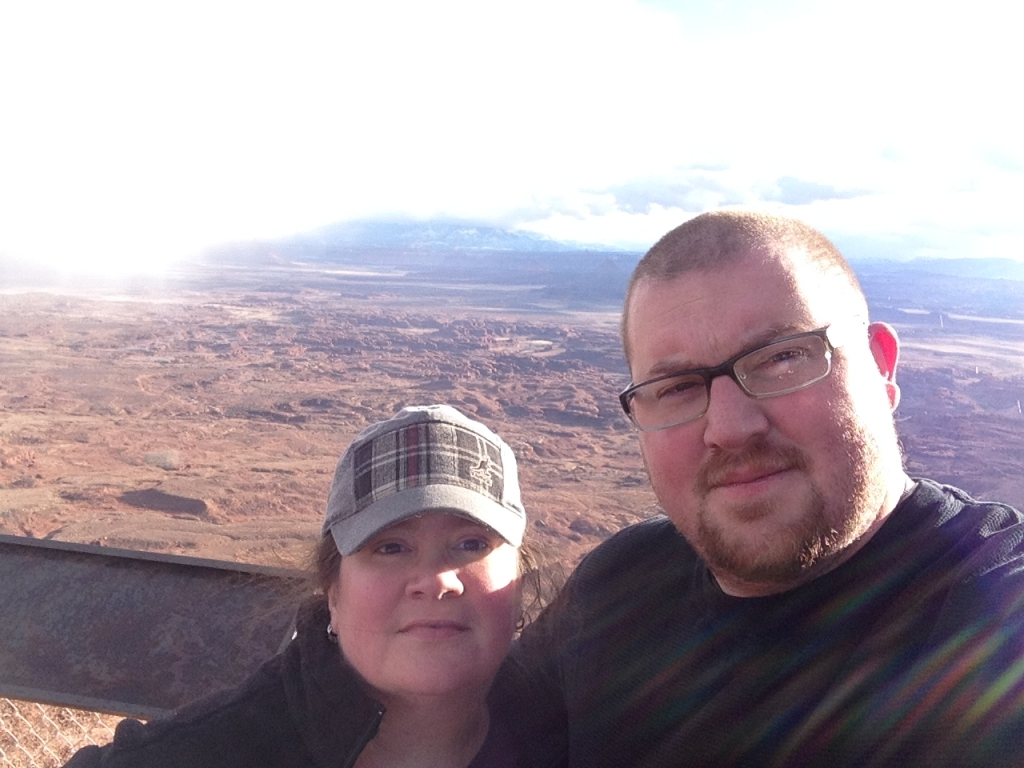 Beth and Sean at Needles