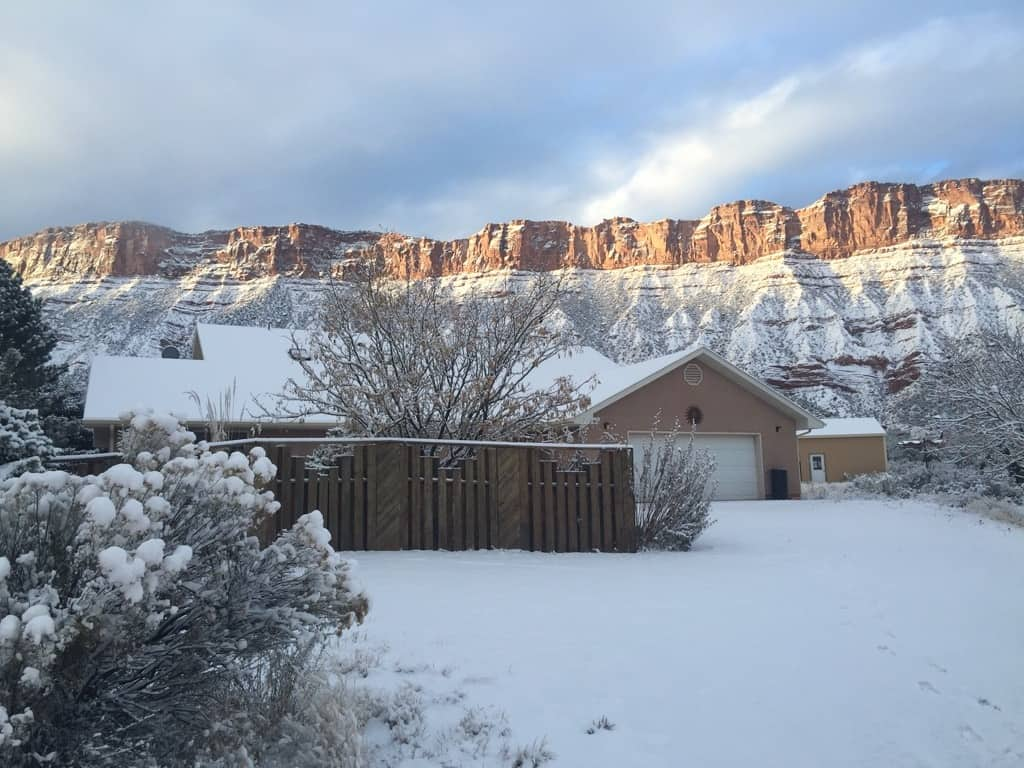 Sun House Snow