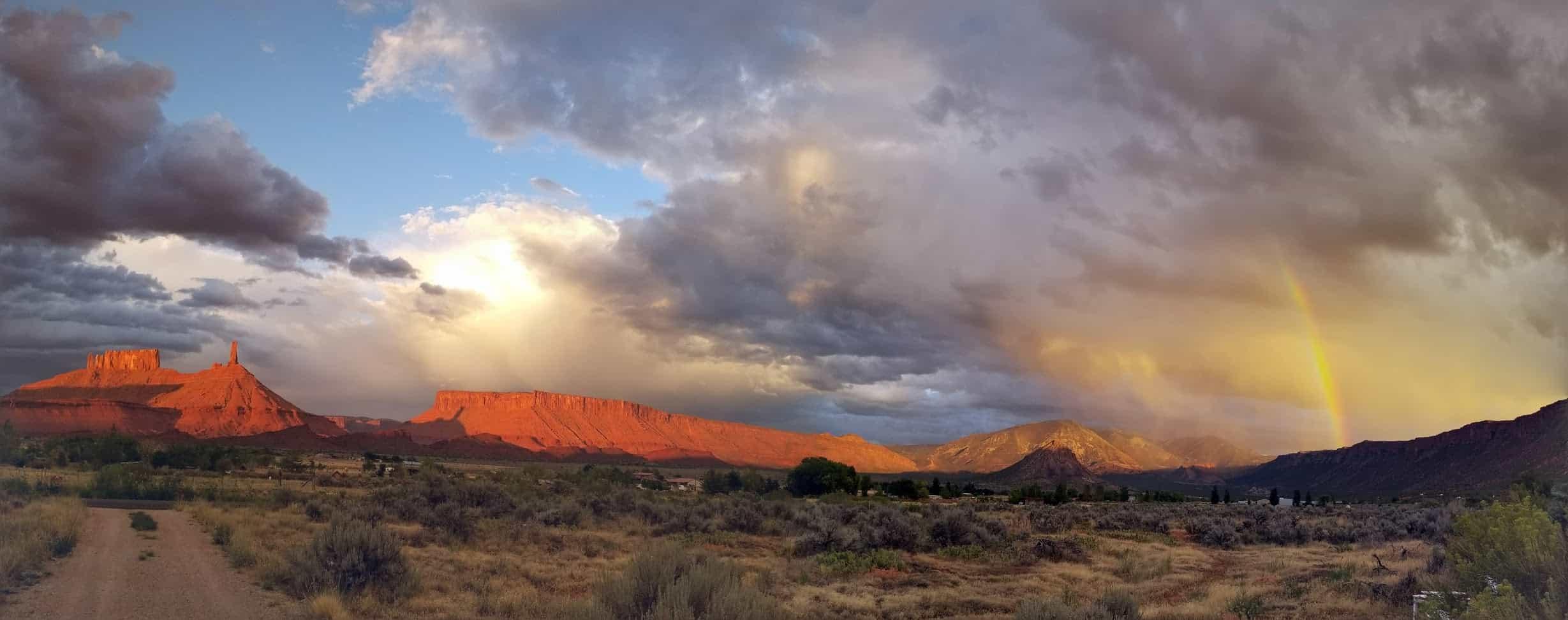 sunset storms