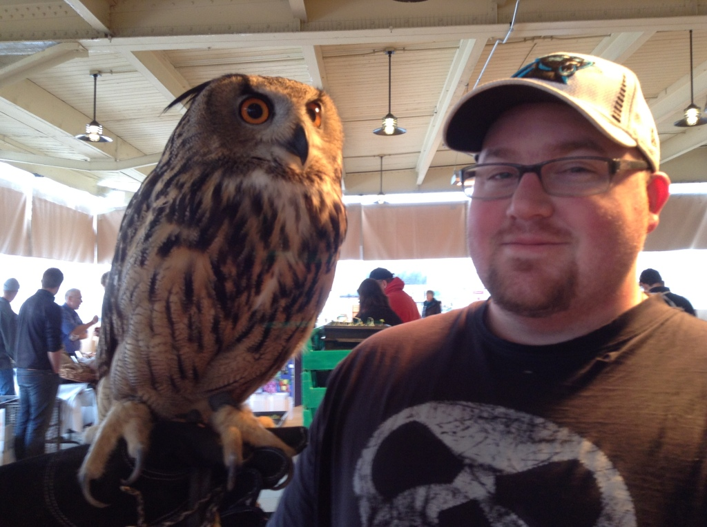 sean and owl
